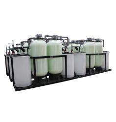 Deux heures de fonctionnement continu du réservoir de 24 Adoucisseur d'eau automatique