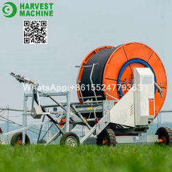 Macchina agricola di irrigazione della bobina del tubo flessibile per l'azienda agricola ed il giardino