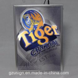 Cadre Photo de l'image SNAP en aluminium avec LED pour l'exposition
