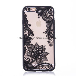 Sexy ретро телефон с цветочным рисунком для Apple iPhone 7 6 6 s 5 5s Se Plus кружевной цветок жесткий ПК+TPU случаях задняя крышка для обеспечения ей возможности iPhone7plus