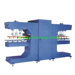 Doppeltes Heads High Frequency Welding Machine für Conveyor Belt Sidewall Profile Welding
