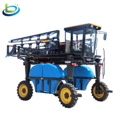 Spruzzatore automotore agricolo dell'asta di agricoltura dell'antiparassitario della rotella di potere dell'azienda agricola del trattore