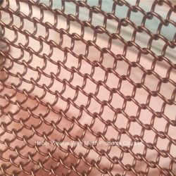 Яркие декоративные металлические катушки драпировкой звено цепи сетка шторки