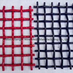 Haute résistance sur le fil sertis en acier au carbone Mesh pour une carrière