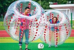 Promotion de la boule de bouclier, corps bulle Zorbing Ball, bouclier gonflable ballon pour la vente, de Football de soccer de la bulle d1005b