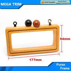 Distintivo de bastidor de madera Bolso Bolso de diseño especial Popular bastidor utilizando en el bolso y la bolsa