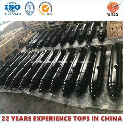 カスタム起重機のタイプ望遠鏡のプランジャのタイプ単動シリンダー中国製