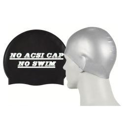 Nadar de silicona de alta elasticidad tapa tapa nadando nadar Hat para la natación Evento
