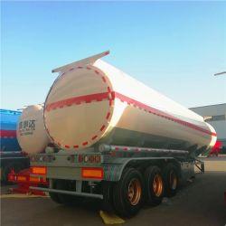 Eje 3 Cbm 45 35000 L Semi-Trailer camión tanque de combustible para el transporte de petróleo crudo