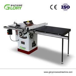 machine à bois de gros tuyau en plastique de scie de table du Conseil de la machine de coupe