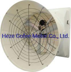 Opitmal el flujo de aire del ventilador de refrigeración de escape de gases de efecto y granjas de ganado