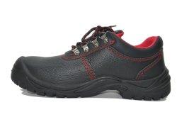 Таким образом стали ноги Обувь High-Quality безопасности Boot черный дешевые цены из натуральной кожи сапоги легкий спортивный защитные ботинки Шаньдун обувь