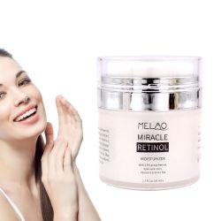Crema idratante Retinol Anti Aging - Lozione anti-strizzamento - viso e collo - aiuta a ridurre l'aspetto di rughe, piedi crovati, cerchi e linee sottili