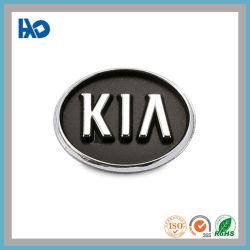 Increíble níquel personalizada etiqueta para el logotipo de coche