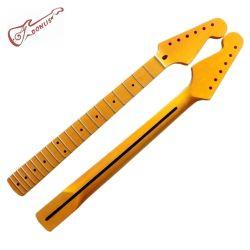 Custom un morceau de guitare d'érable canadien cou pour guitare Strat