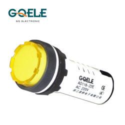 Ce bianco dell'indicatore della fiamma pilota del segnale Lamp/22mm/della lampada Ad116-22e del corpo del LED provato