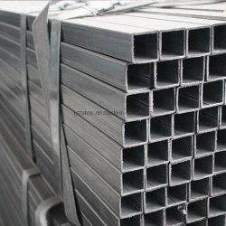 21*21/22*22 /48*48 mm Uso de la valla de tubo de acero galvanizado Cuadrado Perforado