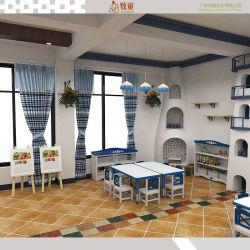 China-Lieferanten-Kindergarten-Bett-Schrank spielt Wand-Schrank-Kindergarten-Gerät