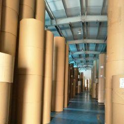 Brown comercial impermeável de embalagens de papel Kraft com saco de papel