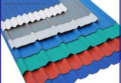 Groothandel voorgeschilderd gegalvaniseerd met kleurcoating metalen stalen daktegel
