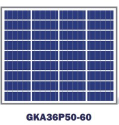 50W Mini Poly panneau Panneau solaire polycristallin solaire et de PV Module solaire 20W-70W