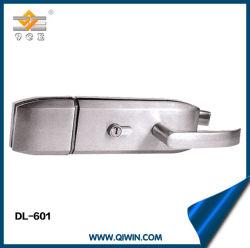 Porte en verre Framless tache la poignée de porte en acier inoxydable avec clé