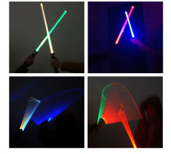 Geschenk 1PCS Cosplay Klinge LED greller Rod färben kreative