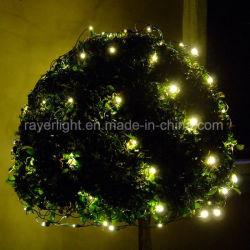 Offre d'usine blanc chaud LED filets de lumières de Noël Décoration extérieure