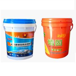 En PEHD vierge 100 % /PP Food Grade tambour en plastique de 20 litres/godet pour l'eau, nourriture ou de godet de produits chimiques