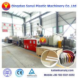 Croûte de PVC en plastique WPC/Celuka/Conseil/Feuille de mousse à peau/Flooring Conseil/Making Machine d'extrusion de l'extrudeuse