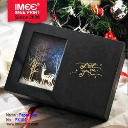 Imeeのクリスマスのギフト用の箱の大きいクリスマスのスノーマンのクリスマスのギフト用の箱