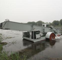 강 청소 기계 또는 완전히 배 물 위드 자동적인 채초 수확기 뜨기 모으는 물 수확기 배 또는 배