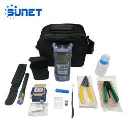 La oferta más barata la terminación de la herramienta de fibra óptica Kit con medidor de potencia