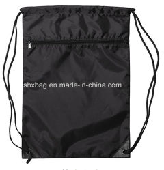 Ден нейлон на молнии рекламных кулиской рюкзак сумка
