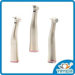 Стоматологическая Handpiece низкой скорости 1: 5 увеличения Contra кнопка угла оптоволоконный советы