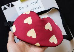 Dulce Corazón de la Seda Eyemask diseño