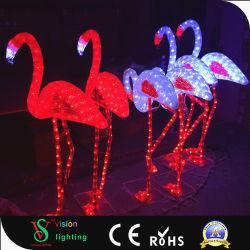 Фламинго животных фонари для украшения для установки вне помещений