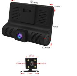 3カメラ1080Pループ記録が付いている24の時間のパッキングモニタが付いている完全なHD駆動機構のレコーダー