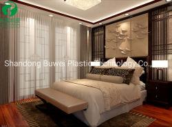 La junta de espuma de PVC/hoja/Panel con color blanco para muebles y construcciones
