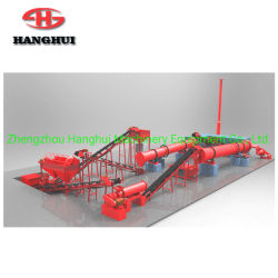유기농 비료 제조 생산 라인 공장 장비