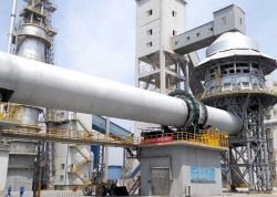 (중동에 사용되는) 1000tpd 석회 제품 회전하는 킬른
