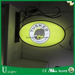 За Круглым столом для использования вне помещений Стрит блок освещения входа круг светодиодный дисплей