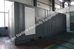 1000kW MTU 무음 발전기 1250kVA 공급 동력 스탬포드/Siemens/Marathon/Engga 교류 발전기