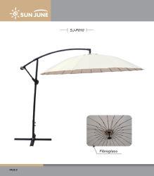 3m Banana Shanghai sombrilla paraguas para jardín muebles de exterior patio patio en voladizo