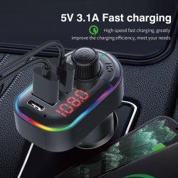 Aufladeeinheit USB-zwei und gelesener u-Platte-Kanal Bluetooth Auto-Installationssatz mit FM Spieler