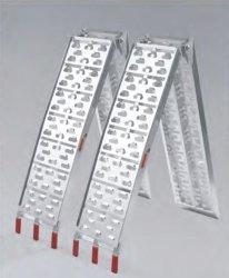 Portable Moto VTT Cropper rampe de rampe de chargement pliable en aluminium avec la CE