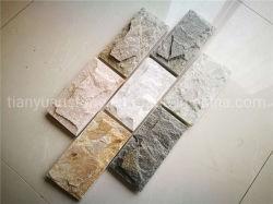 외부 장식적인 벽 검정 슬레이트 버섯 돌