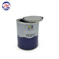 1 litro de tinta de tampa de alavancagem Latas de tinta com impressão