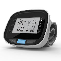 Le poignet Smart Moniteur de fréquence cardiaque à domicile et de haute qualité de l'hôpital de poignet libre numérique Moniteur de pression sanguine