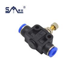 Série SA Válvula Borboleta SA o fluxo de ar de controle de rotação do tubo de borracha de água pressão pneumática nas conexões
